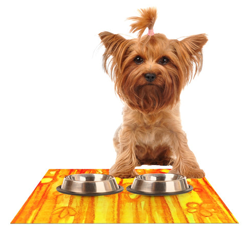 "Ebi Emporium ""Summer Sentiments""  Dog Place Mat - Outlet Item"