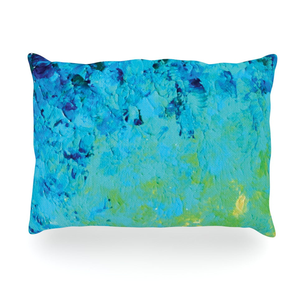 "Ebi Emporium ""True Reflection"" Oblong Pillow - KESS InHouse"