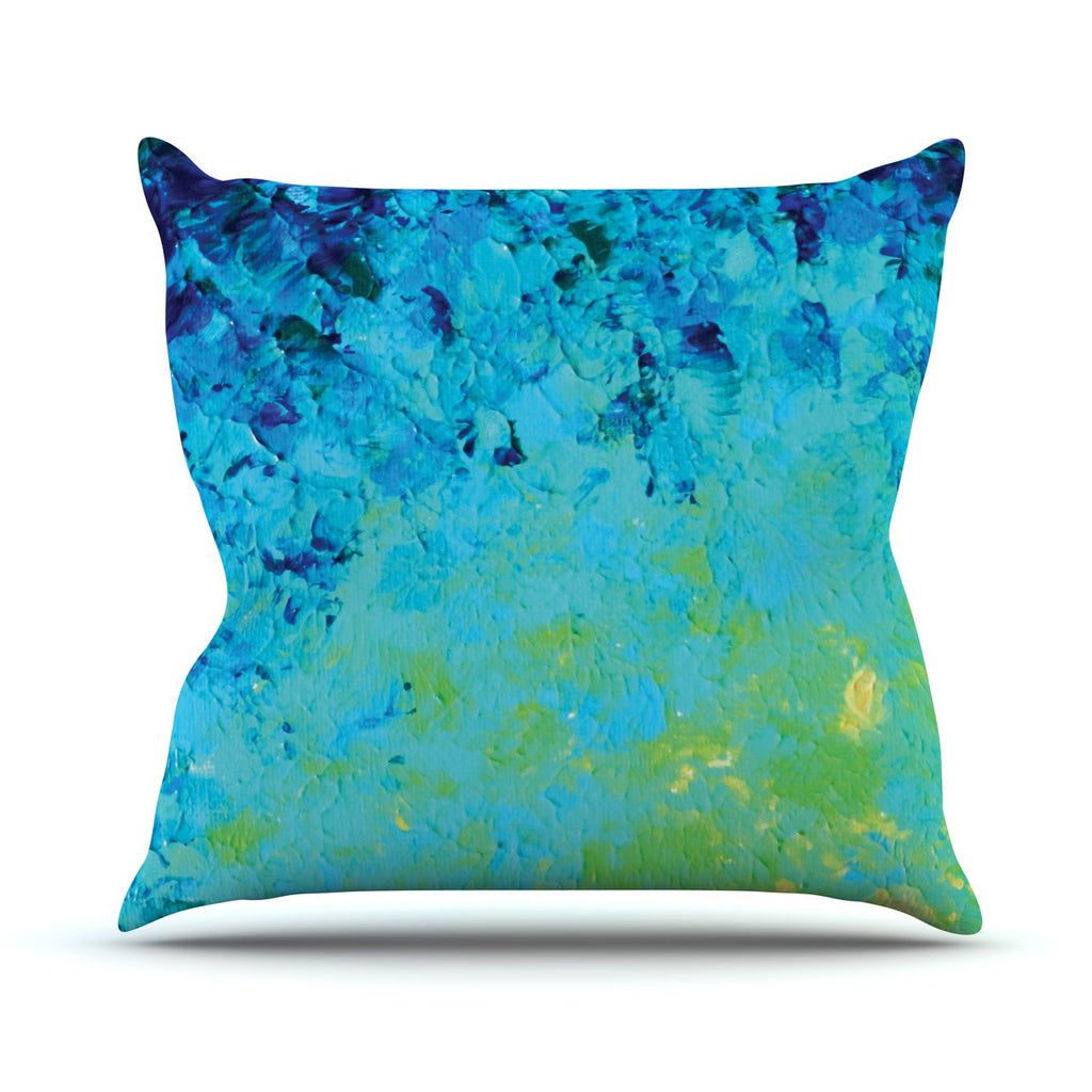 "Ebi Emporium ""True Reflection"" Outdoor Throw Pillow - KESS InHouse  - 1"