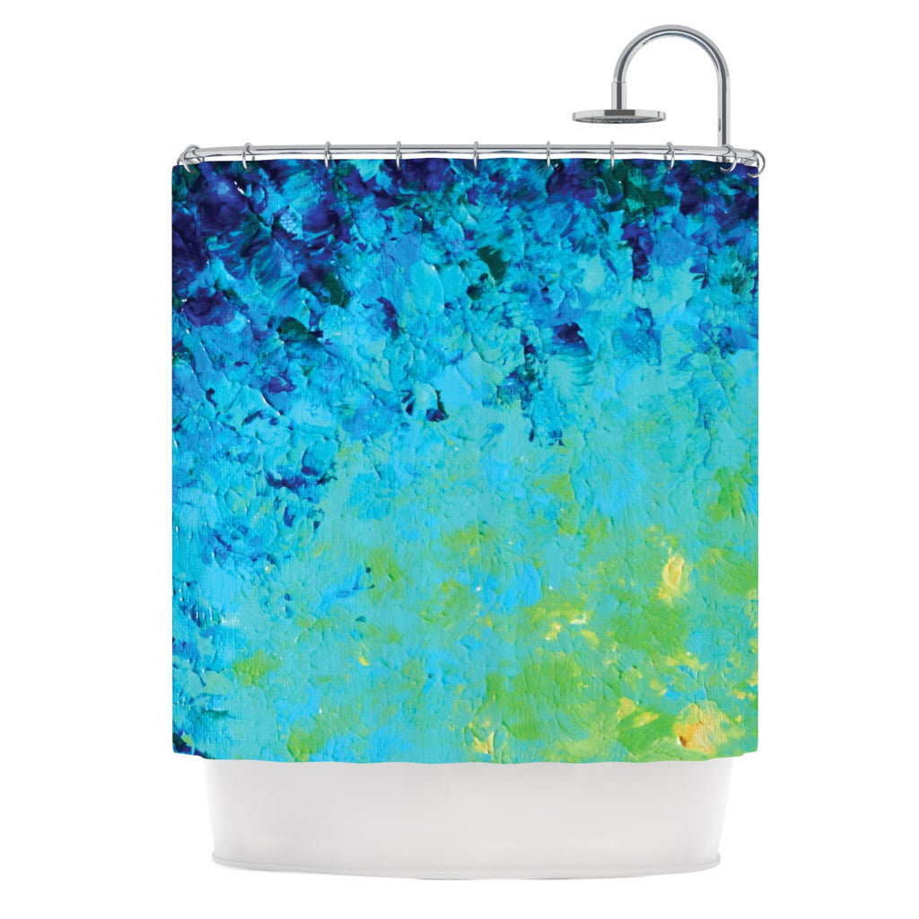 "Ebi Emporium ""True Reflection"" Shower Curtain - KESS InHouse"
