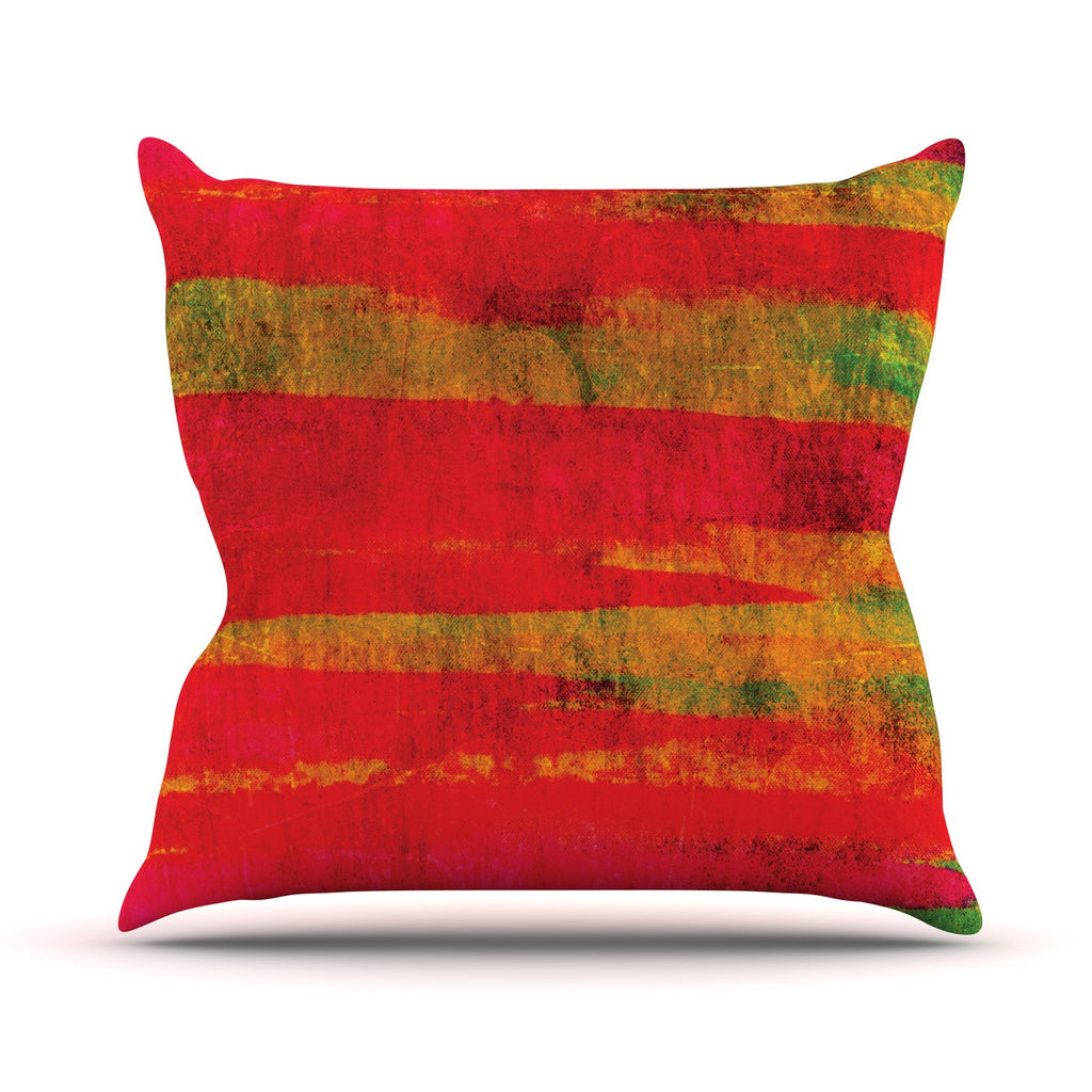 "Ebi Emporium ""Fierce"" Outdoor Throw Pillow - KESS InHouse  - 1"