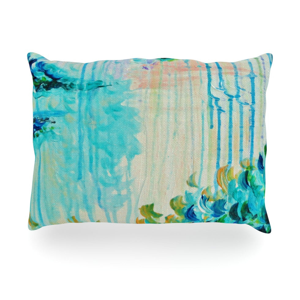 "Ebi Emporium ""Poseidons Wrath"" Oblong Pillow - KESS InHouse"