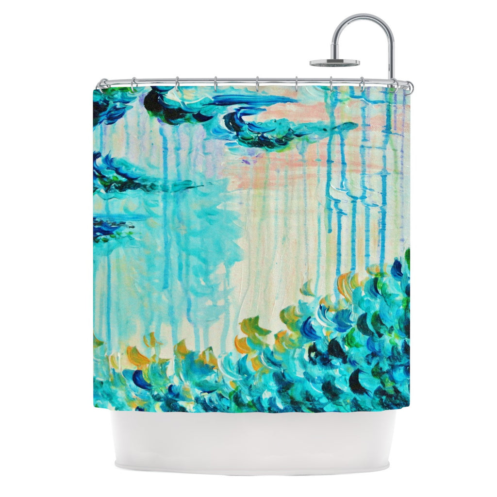 "Ebi Emporium ""Poseidons Wrath"" Shower Curtain - KESS InHouse"