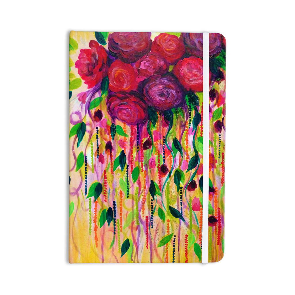 "Ebi Emporium ""Roses are Red"" Everything Notebook - KESS InHouse  - 1"