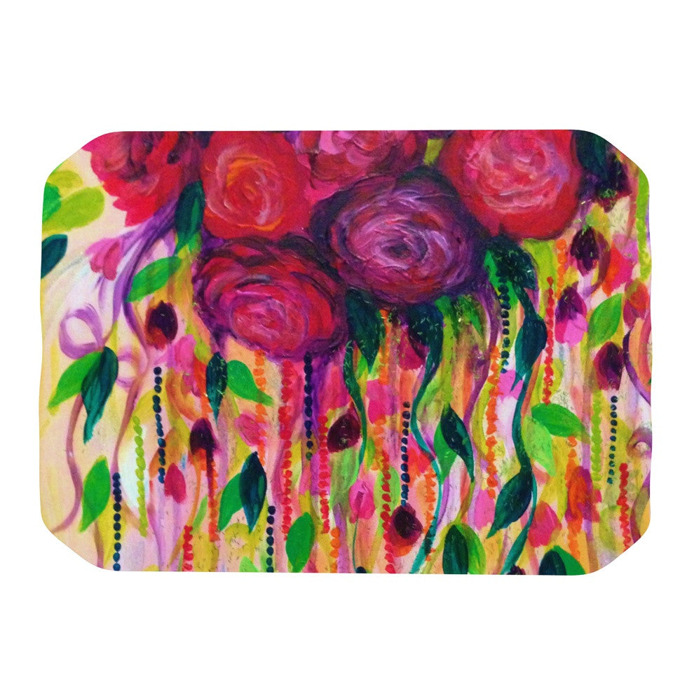 "Ebi Emporium ""Roses are Red"" Place Mat - KESS InHouse"