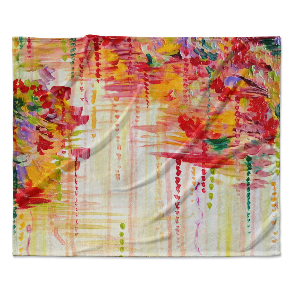 "Ebi Emporium ""Stormy Moods"" Fleece Throw Blanket"