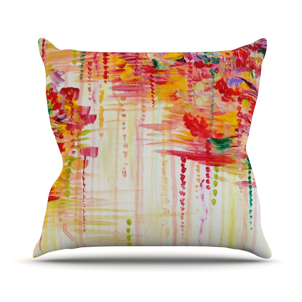 "Ebi Emporium ""Stormy Moods"" Throw Pillow - KESS InHouse  - 1"