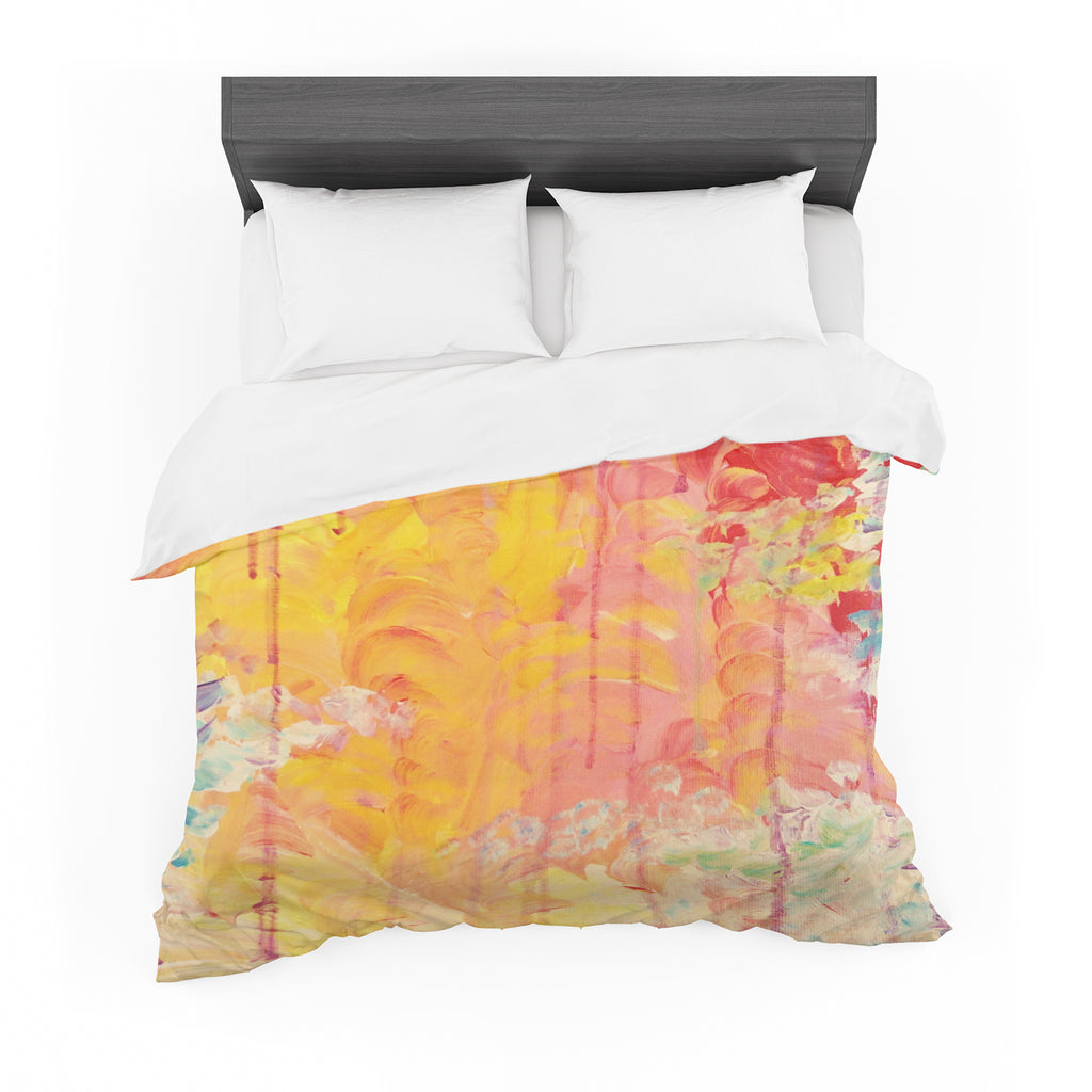 "Ebi Emporium ""Sun Showers"" Featherweight Duvet Cover"