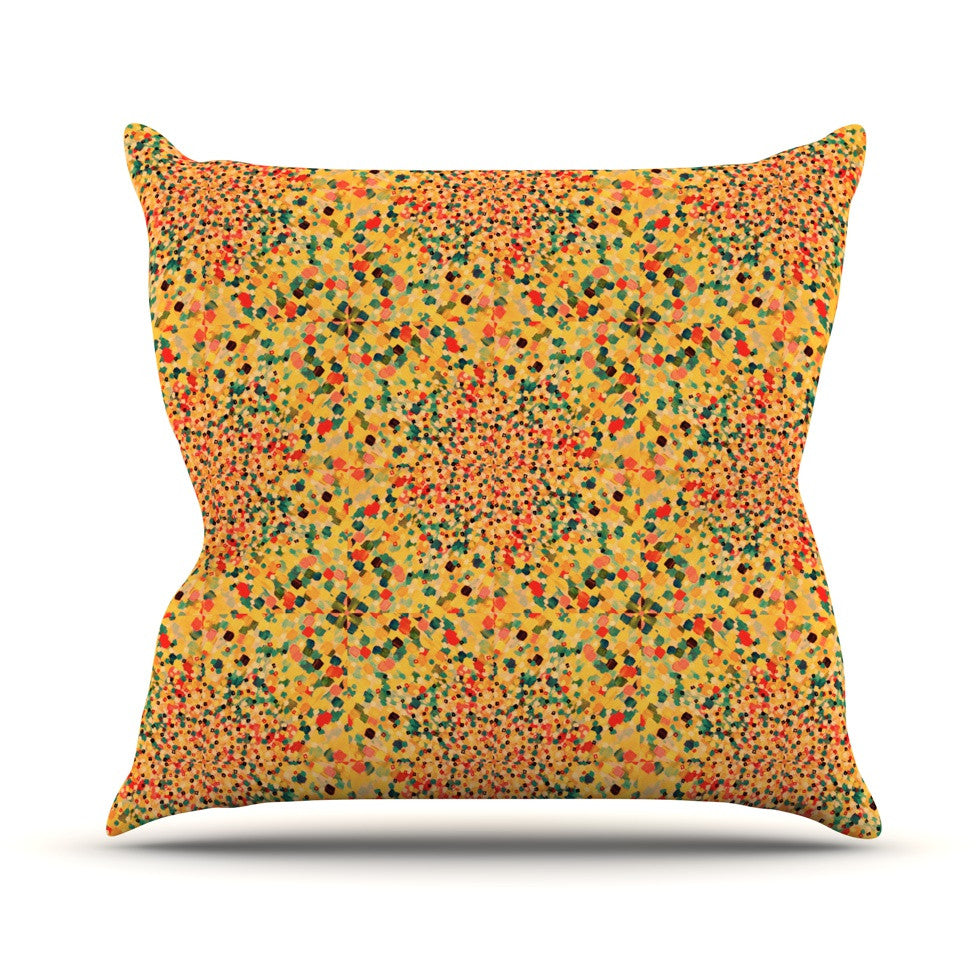 "Ebi Emporium ""Swept Away II"" Throw Pillow - KESS InHouse  - 1"