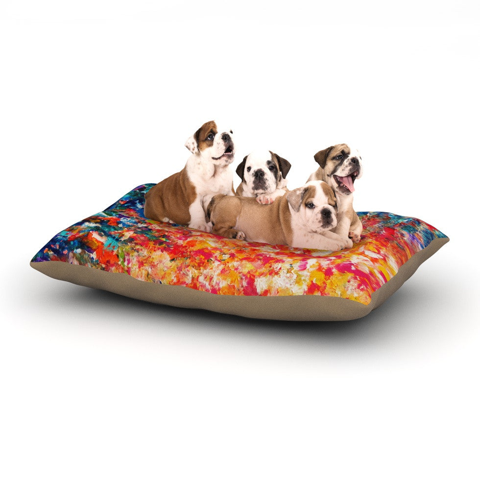 "Ebi Emporium ""The Clash"" Dog Bed - KESS InHouse  - 1"