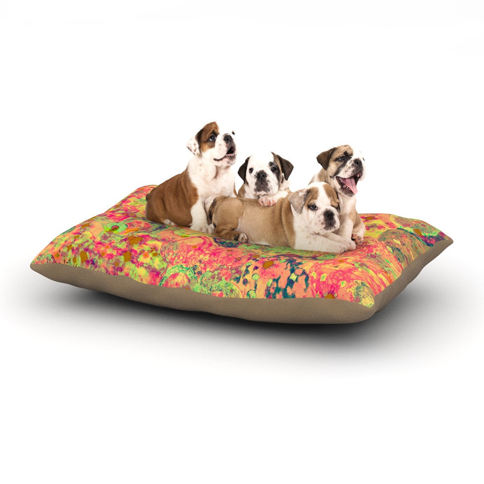 "Ebi Emporium ""Time For Bubbly"" Dog Bed - KESS InHouse  - 1"