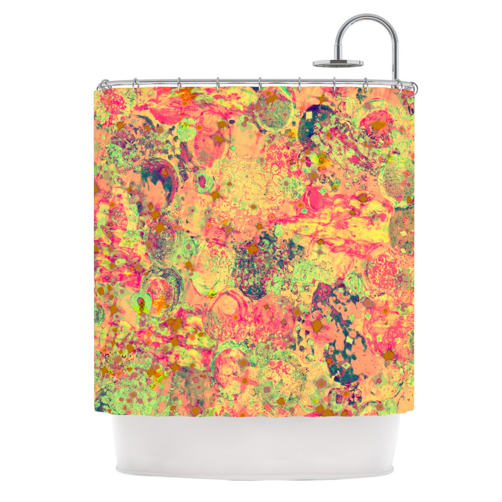 "Ebi Emporium ""Time For Bubbly"" Shower Curtain - KESS InHouse"
