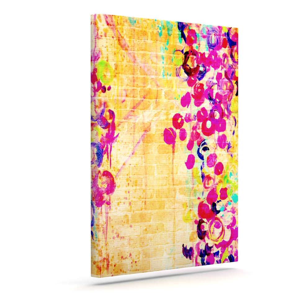 "Ebi Emporium ""Wall Flowers"" Canvas Art - KESS InHouse  - 1"