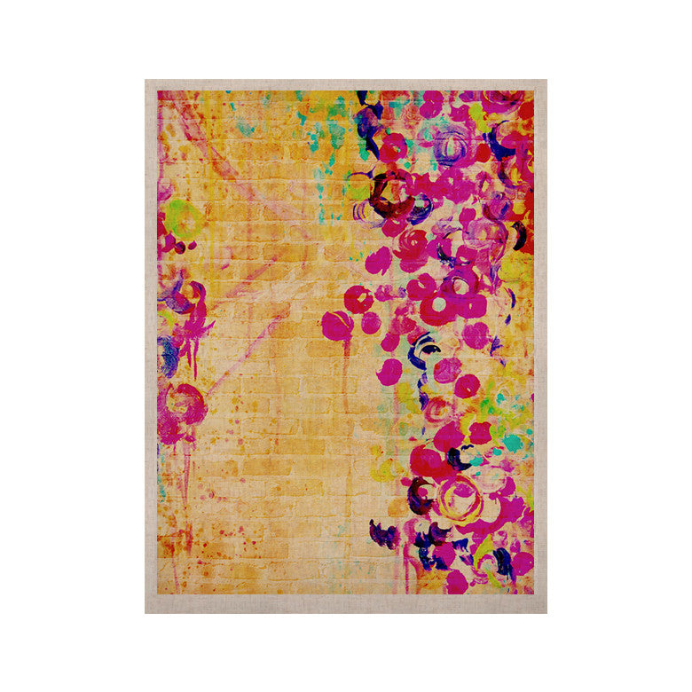 "Ebi Emporium ""Wall Flowers"" KESS Naturals Canvas (Frame not Included) - KESS InHouse  - 1"