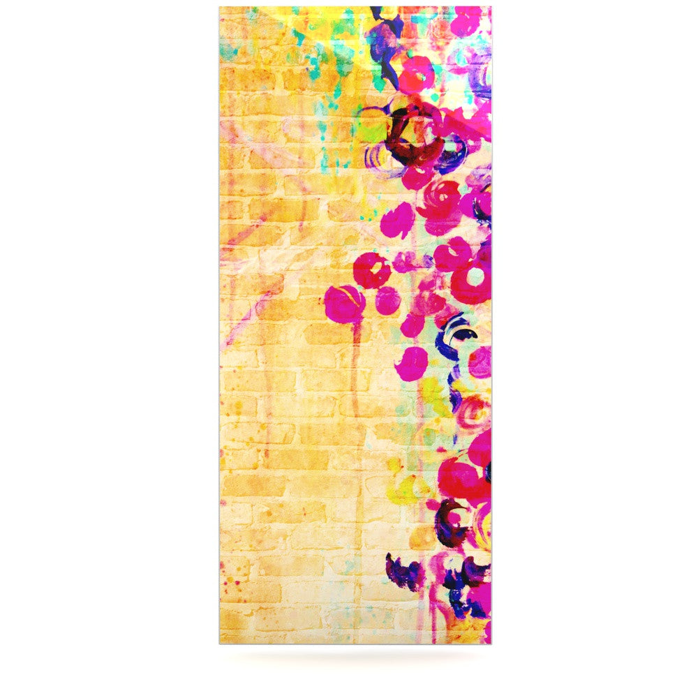 "Ebi Emporium ""Wall Flowers"" Luxe Rectangle Panel - KESS InHouse  - 1"