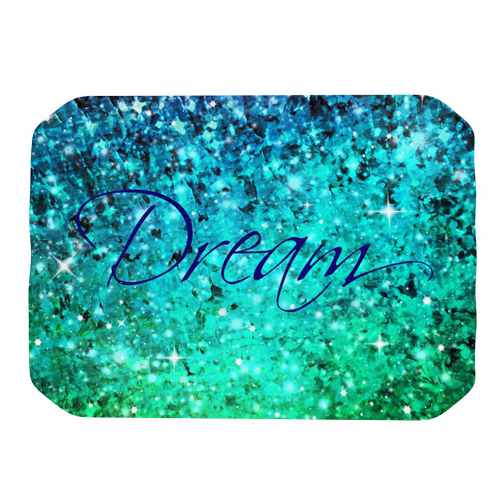 "Ebi Emporium ""Dream"" Blue Teal Place Mat - KESS InHouse"