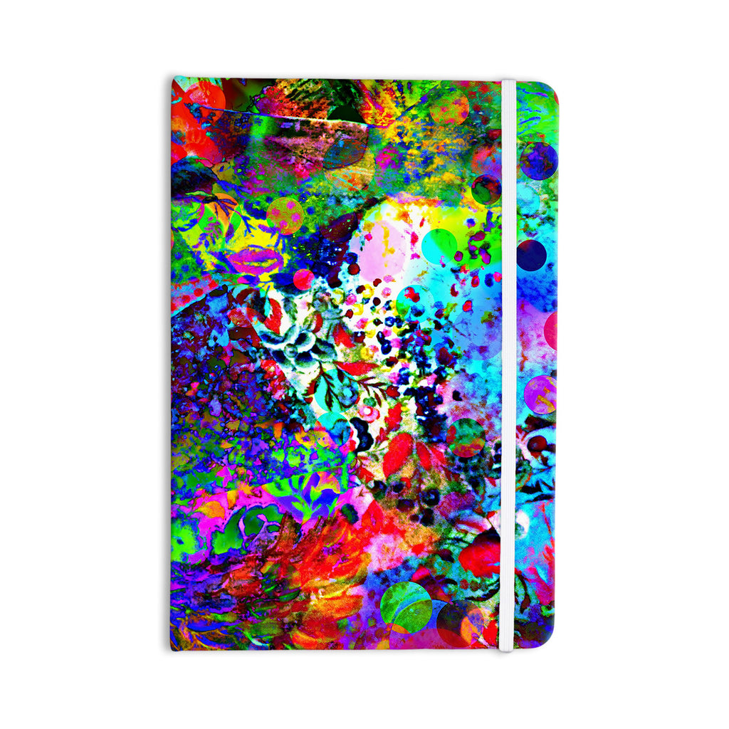 "Ebi Emporium ""Jungle Fever"" Multicolor Everything Notebook - KESS InHouse  - 1"