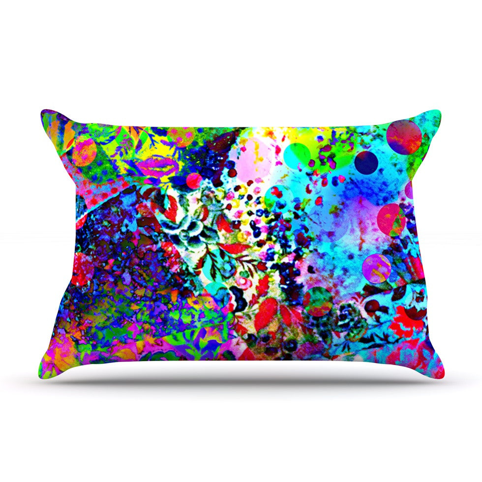 "Ebi Emporium ""Jungle Fever"" Multicolor Pillow Sham - KESS InHouse"