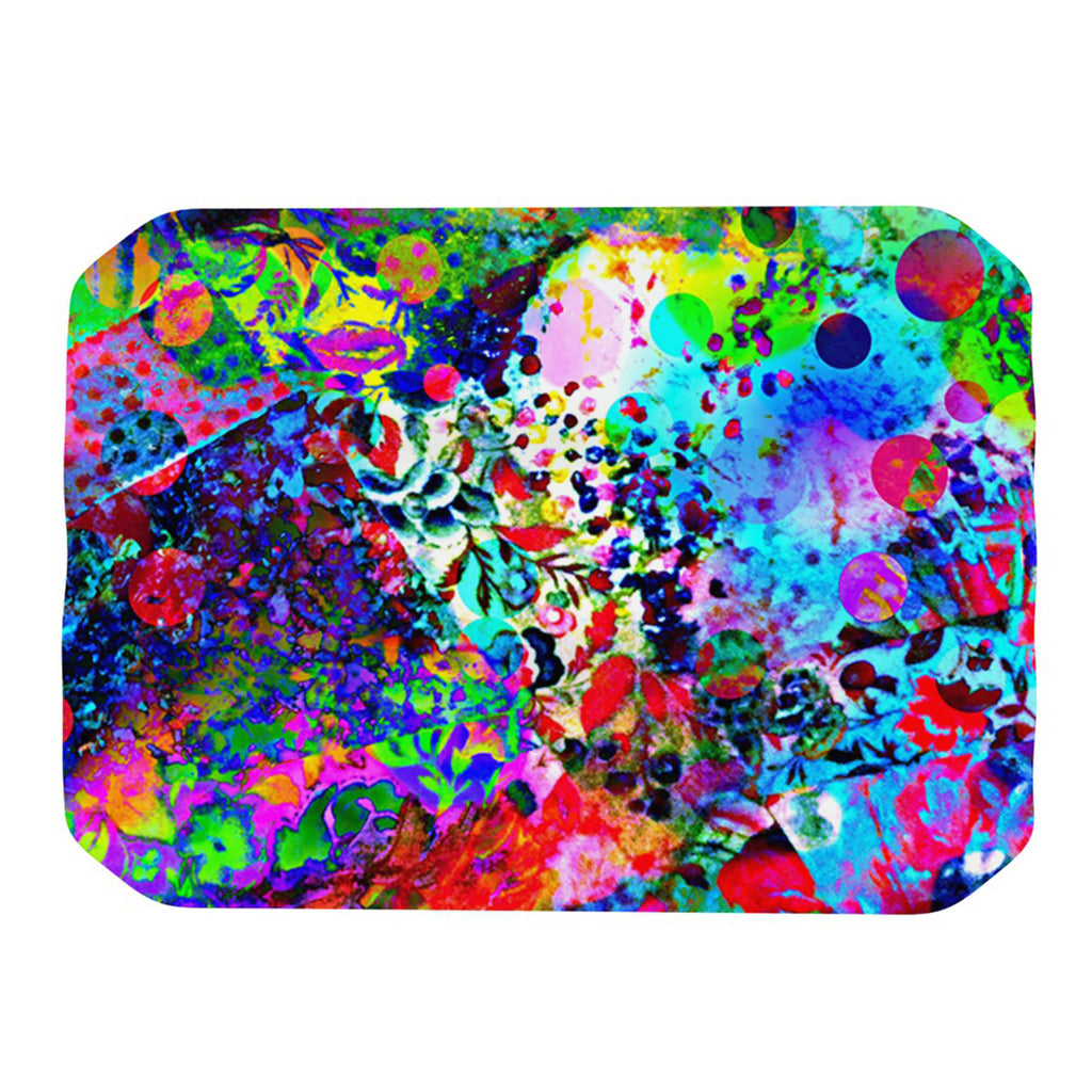 "Ebi Emporium ""Jungle Fever"" Multicolor Place Mat - KESS InHouse"