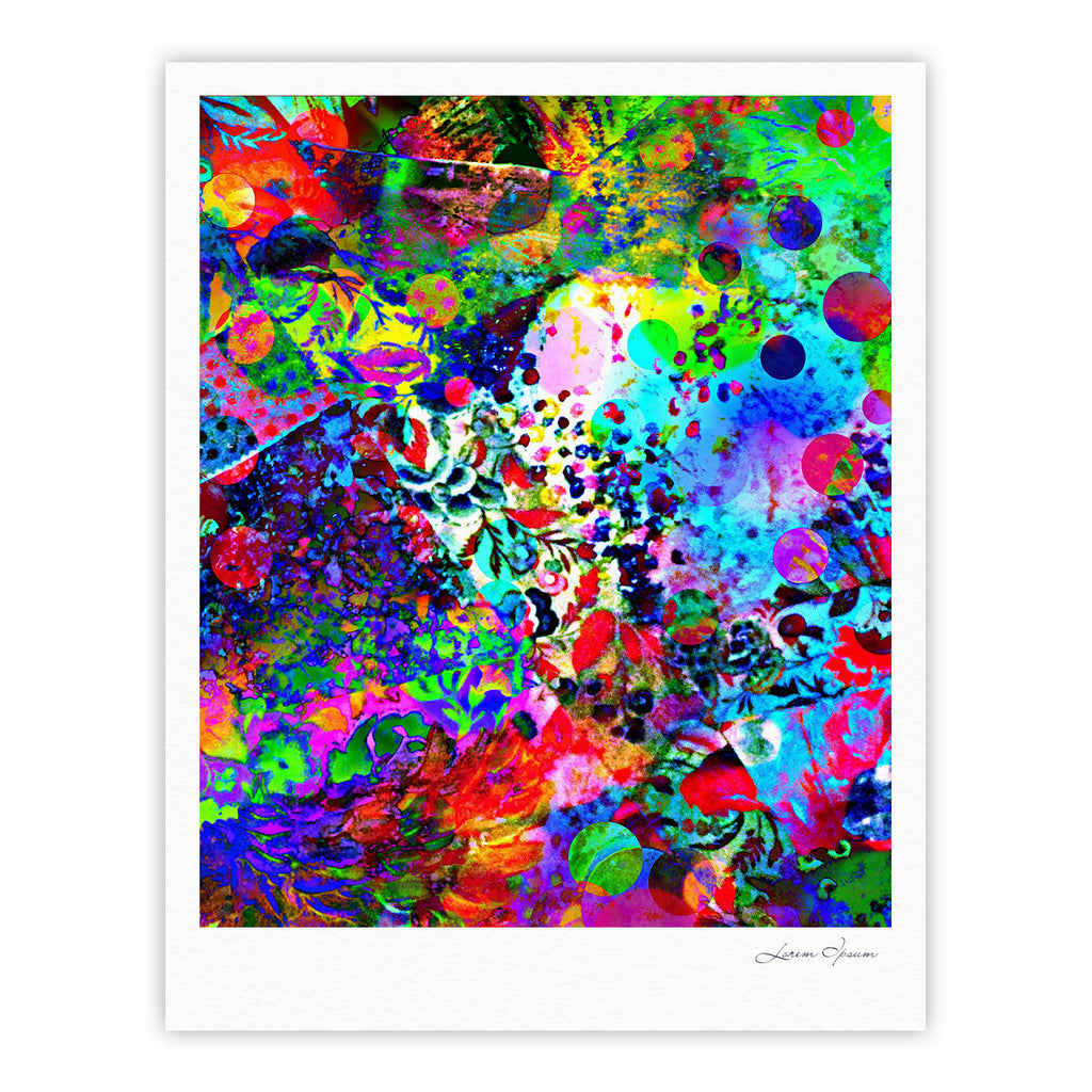"Ebi Emporium ""Jungle Fever"" Multicolor Fine Art Gallery Print - KESS InHouse"