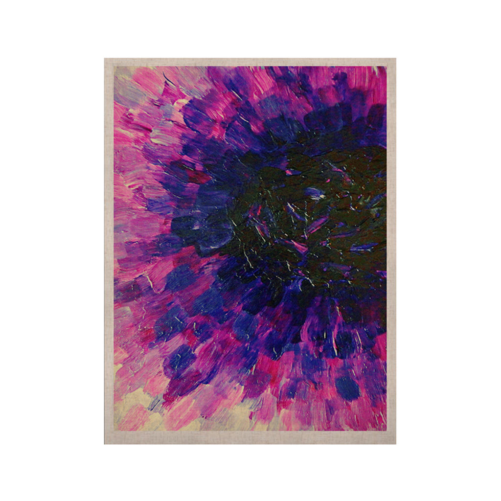 "Ebi Emporium ""Limitless"" Pink Purple KESS Naturals Canvas (Frame not Included) - KESS InHouse  - 1"