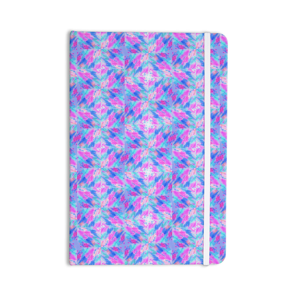 "Ebi Emporium ""Seeing Stars"" Blue Pink Everything Notebook - KESS InHouse  - 1"