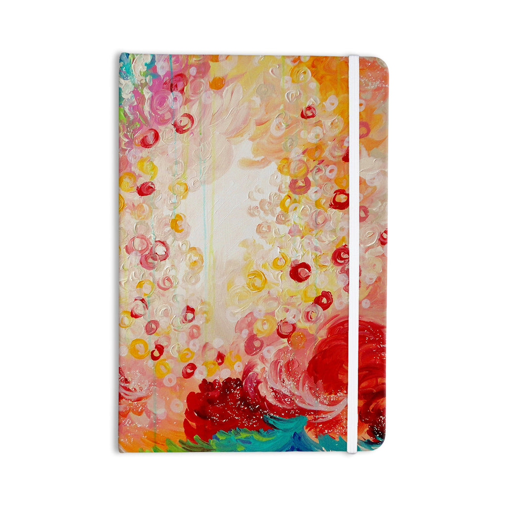 "Ebi Emporium ""Summer Days"" Red Tan Everything Notebook - KESS InHouse  - 1"