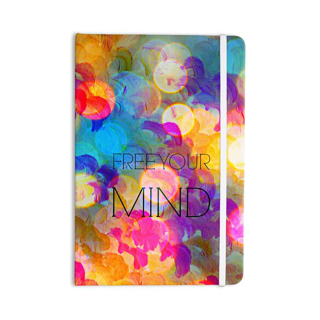 "Ebi Emporium ""Free Your Mind"" Rainbow Everything Notebook - KESS InHouse  - 1"