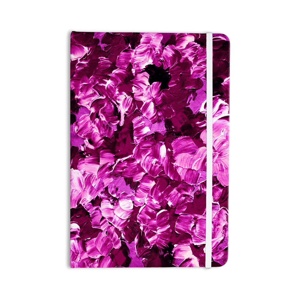 "Ebi Emporium ""Floral Fantasy III"" Magenta Everything Notebook - KESS InHouse  - 1"