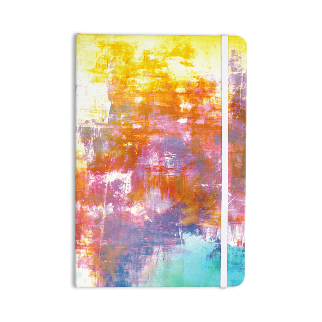 "Ebi Emporium ""Off The Grid II"" Multicolor Painting Everything Notebook - KESS InHouse  - 1"