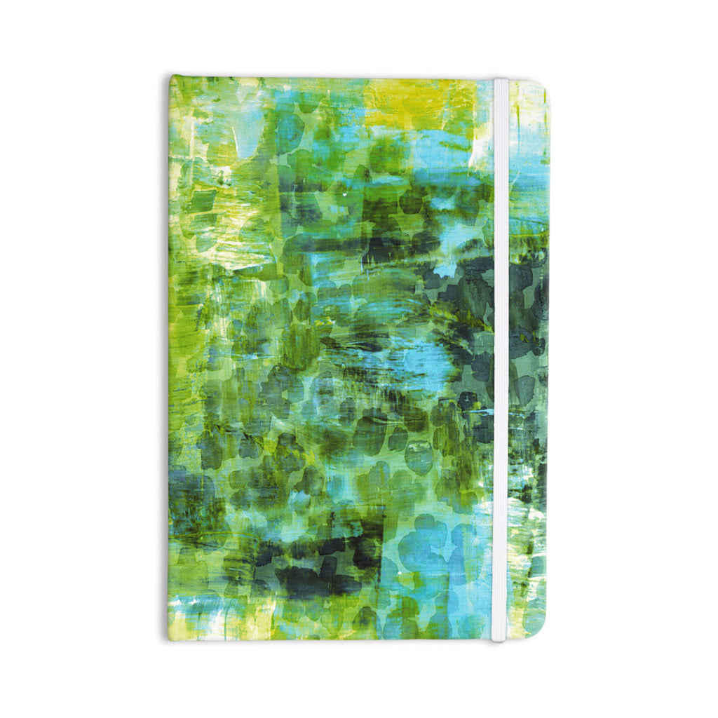"Ebi Emporium ""Pastel Jungle II"" Green Blue Everything Notebook - KESS InHouse  - 1"