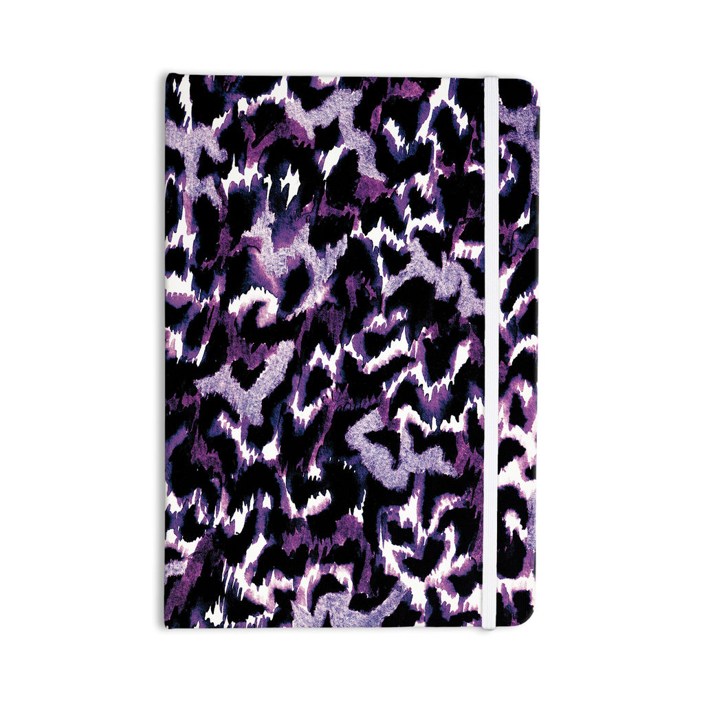 "Ebi Emporium ""Wild at Heart - Purple"" Lavender Everything Notebook - KESS InHouse  - 1"