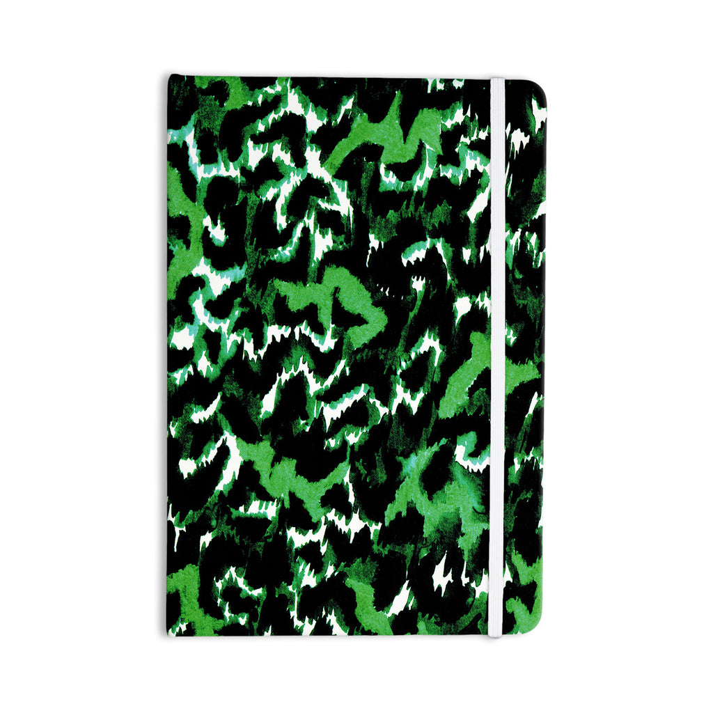 "Ebi Emporium ""Wild at Heart - Green"" Emerald Everything Notebook - KESS InHouse  - 1"