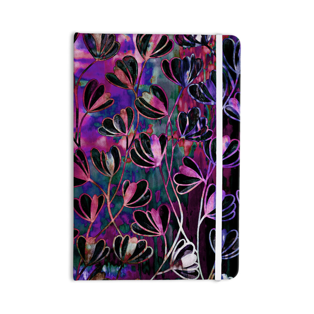 "Ebi Emporium ""Efflorescence - Mixed Berry"" Pink Purple Everything Notebook - KESS InHouse  - 1"