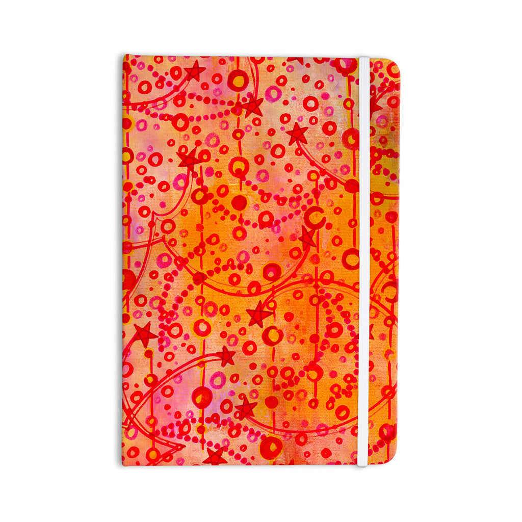 "Ebi Emporium ""Make A Wish"" Orange Red Everything Notebook - KESS InHouse  - 1"