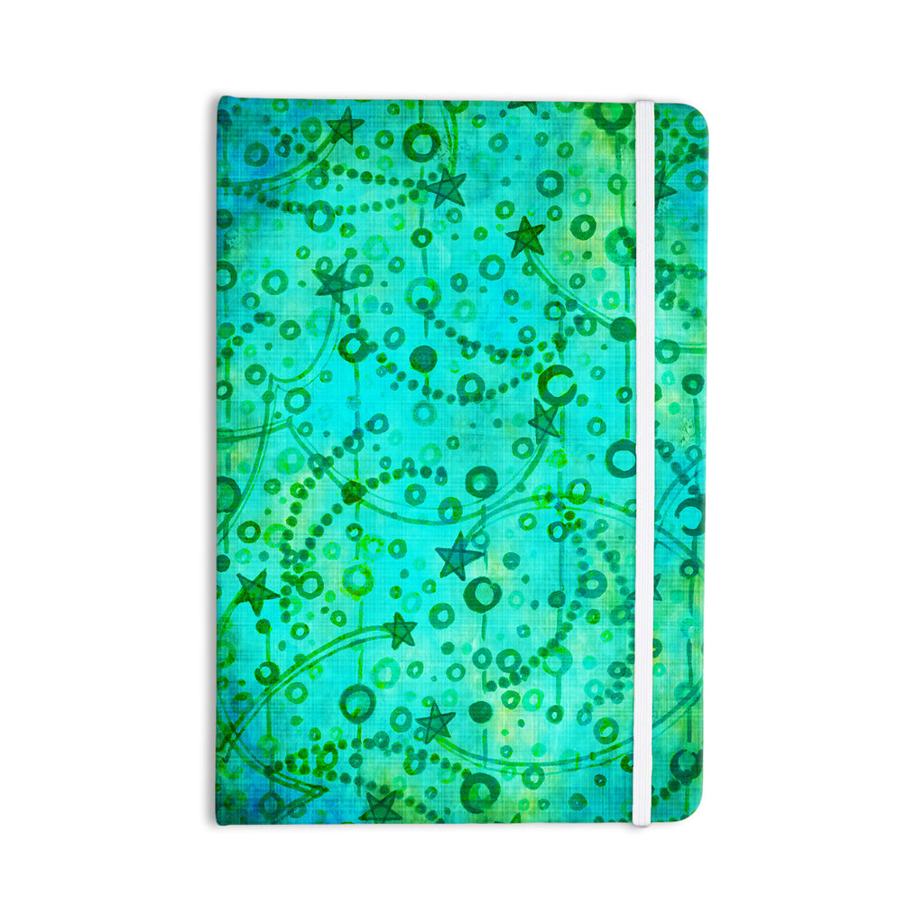 "Ebi Emporium ""Make A Wish II"" Teal Green Everything Notebook - KESS InHouse  - 1"