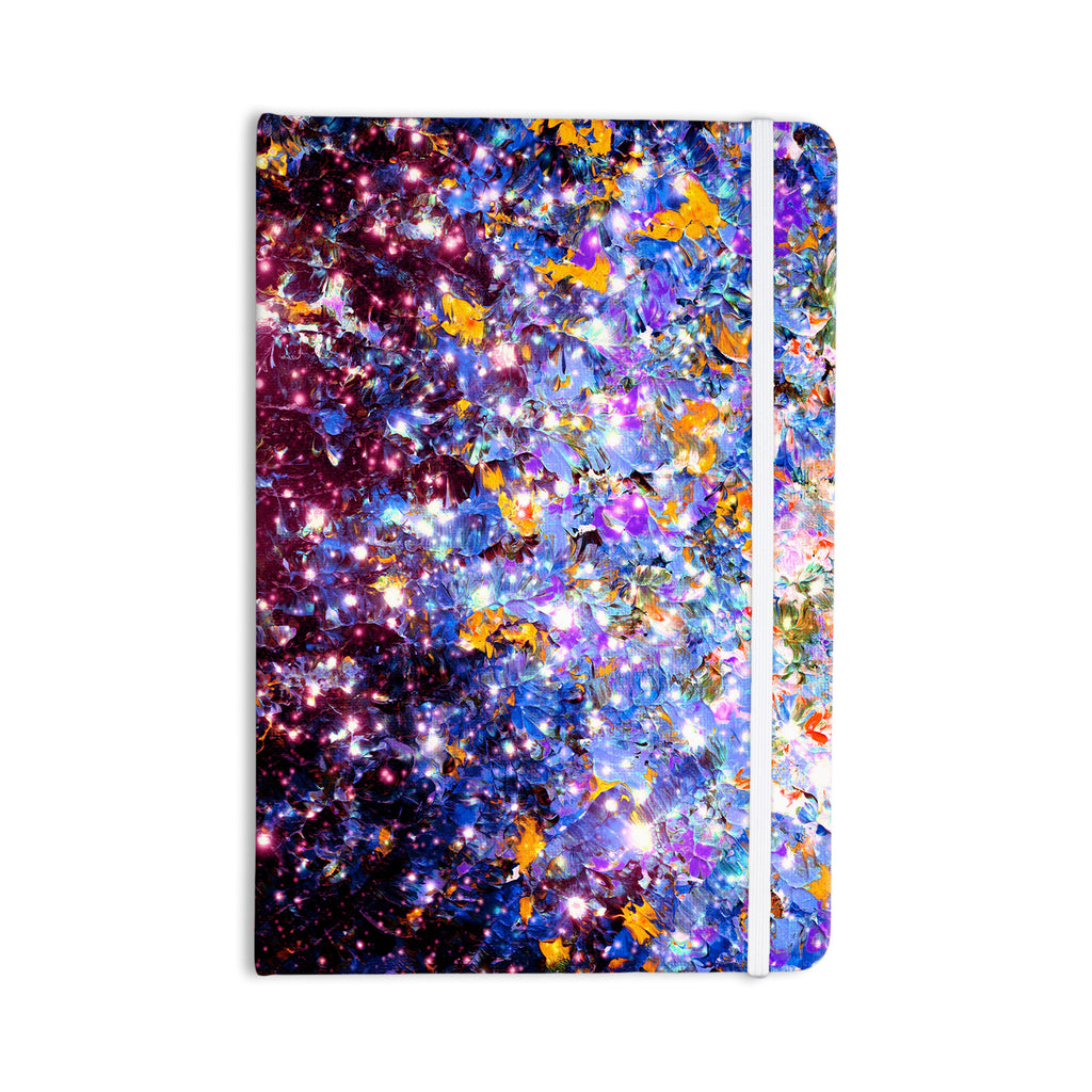 "Ebi Emporium ""Midnight Serenade"" Blue Purple Everything Notebook - KESS InHouse  - 1"