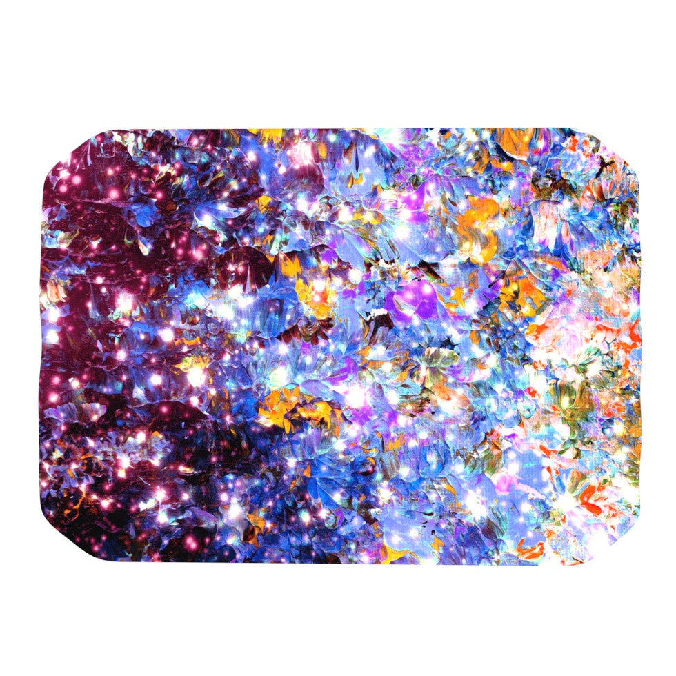 "Ebi Emporium ""Midnight Serenade"" Blue Purple Place Mat - KESS InHouse"