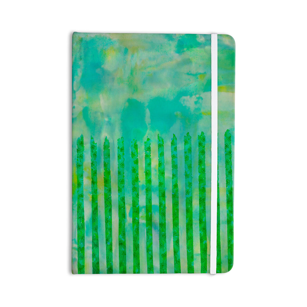 "Ebi Emporium ""Fancy This"" Green Teal Everything Notebook - KESS InHouse  - 1"