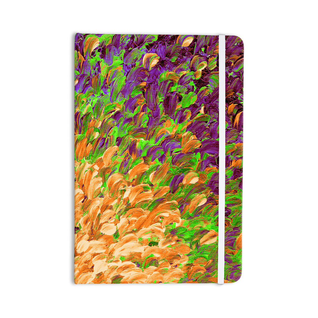 "Ebi Emporium ""Follow the Current III"" Orange Green Everything Notebook - KESS InHouse  - 1"