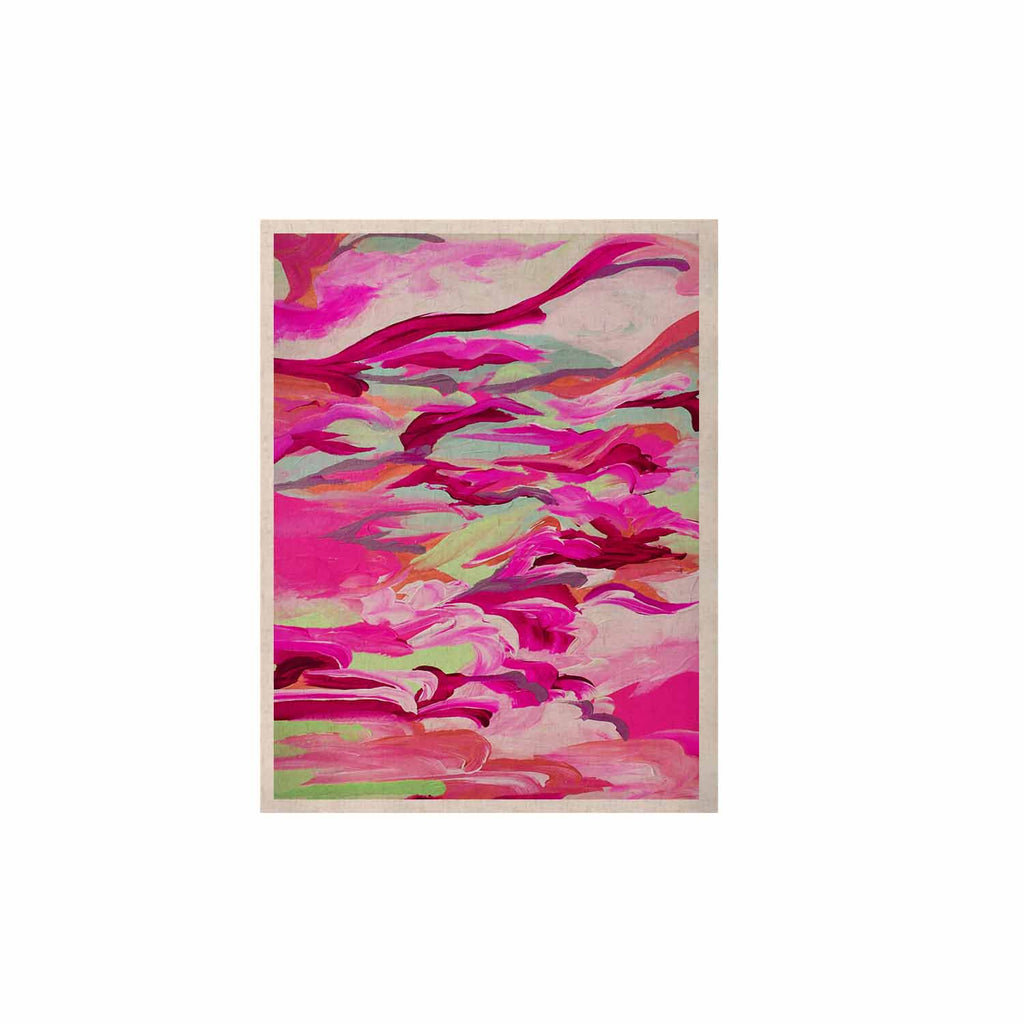 "Ebi Emporium ""Still Up In The Air 3"" Pink Magenta KESS Naturals Canvas (Frame not Included) - KESS InHouse  - 1"