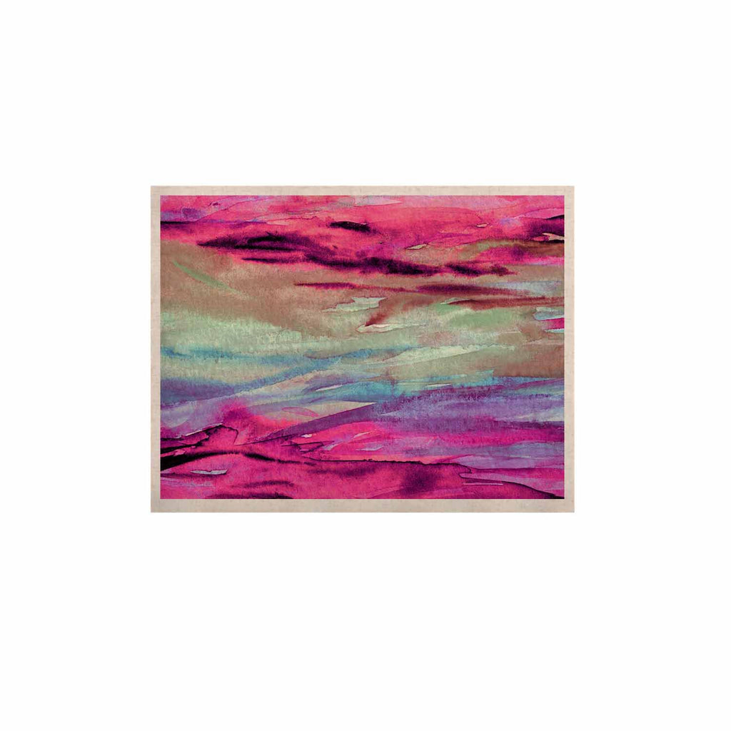 "Ebi Emporium ""Unanchored 4"" Pink Lavender KESS Naturals Canvas (Frame not Included) - KESS InHouse  - 1"