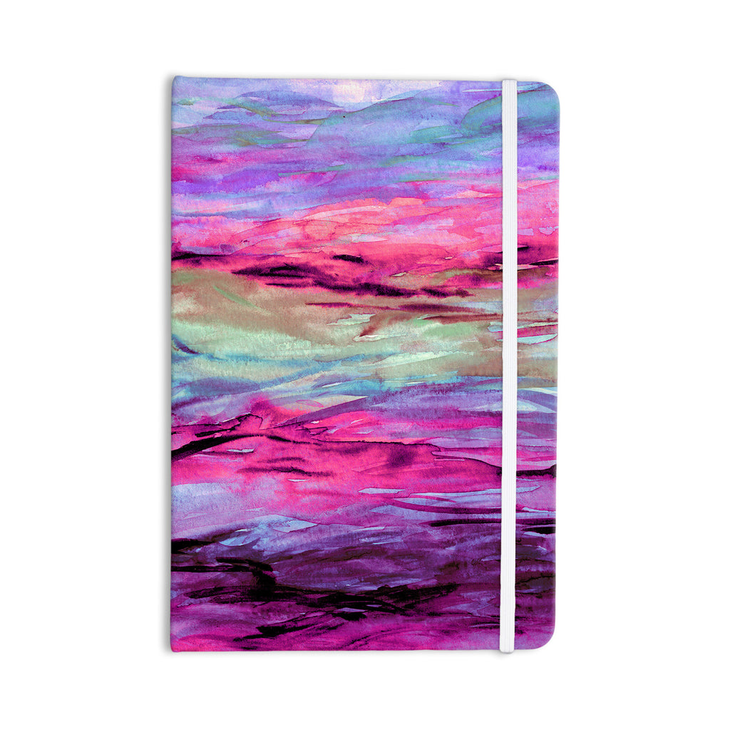 "Ebi Emporium ""Unanchored 4"" Pink Lavender Everything Notebook - KESS InHouse  - 1"