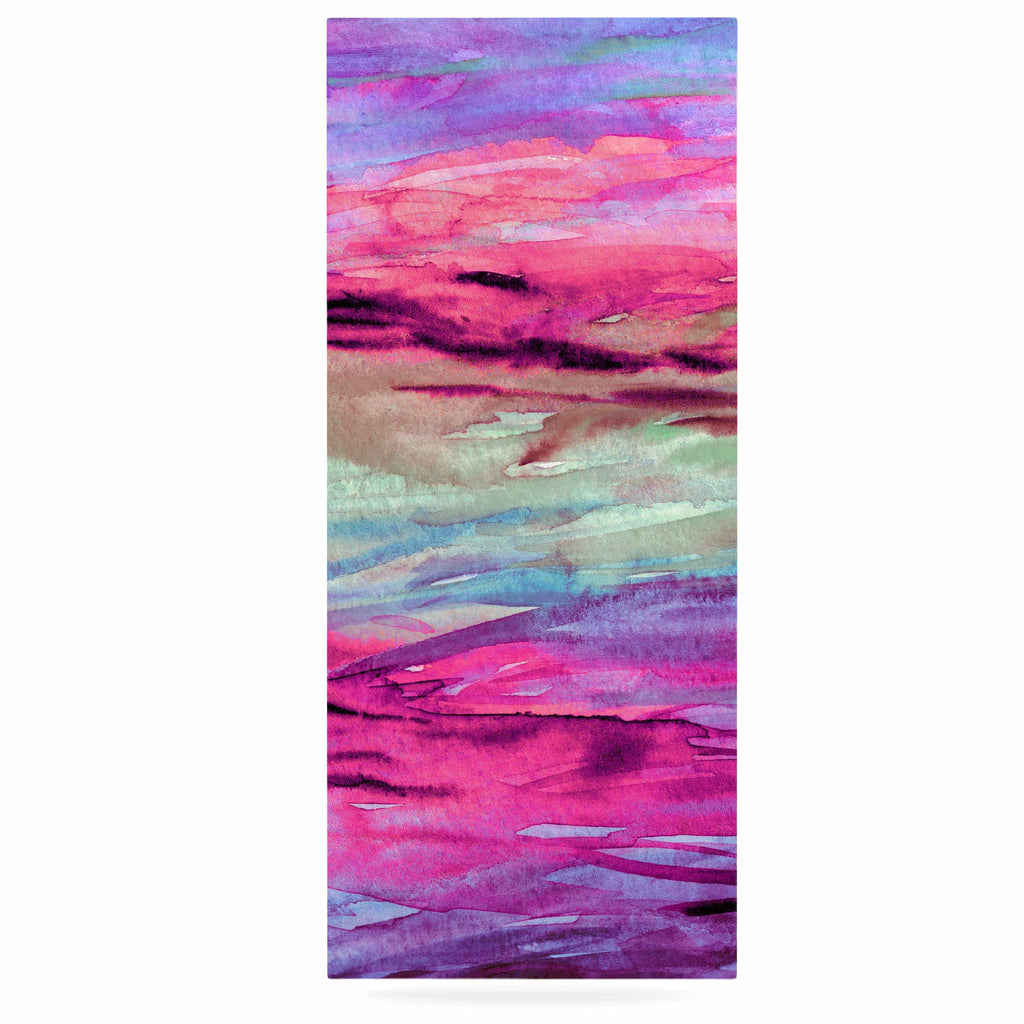 "Ebi Emporium ""Unanchored 4"" Pink Lavender Luxe Rectangle Panel - KESS InHouse  - 1"