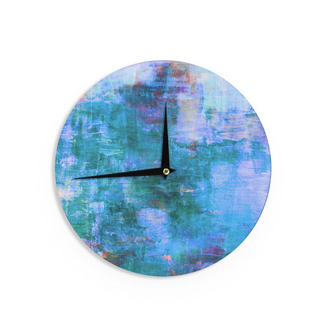 "Ebi Emporium ""The Reef"" Blue Teal Wall Clock - Outlet Item"