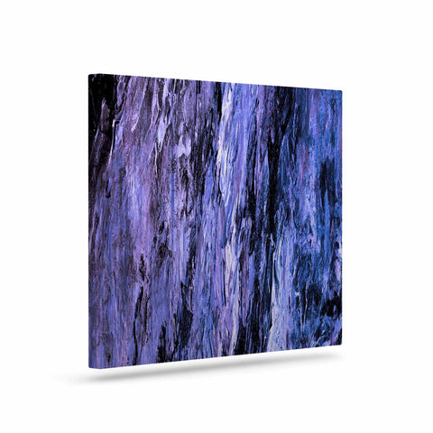 "Ebi Emporium ""RAINBOW BARK 6"" Purple Lavender Abstract Nature Painting Mixed Media Art Canvas"