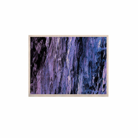 "Ebi Emporium ""RAINBOW BARK 6"" Purple Lavender Abstract Nature Painting Mixed Media KESS Naturals Canvas (Frame not Included)"