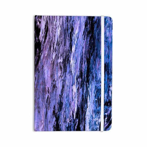 "Ebi Emporium ""RAINBOW BARK 6"" Purple Lavender Abstract Nature Painting Mixed Media Everything Notebook"