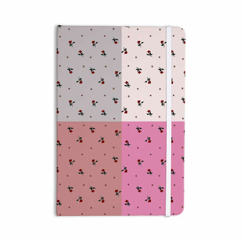 "Ebi Emporium ""COLORBLOCK FLORAL 2"" Pastel,Pink,Modern,Floral,Mixed Media,Watercolor Everything Notebook"