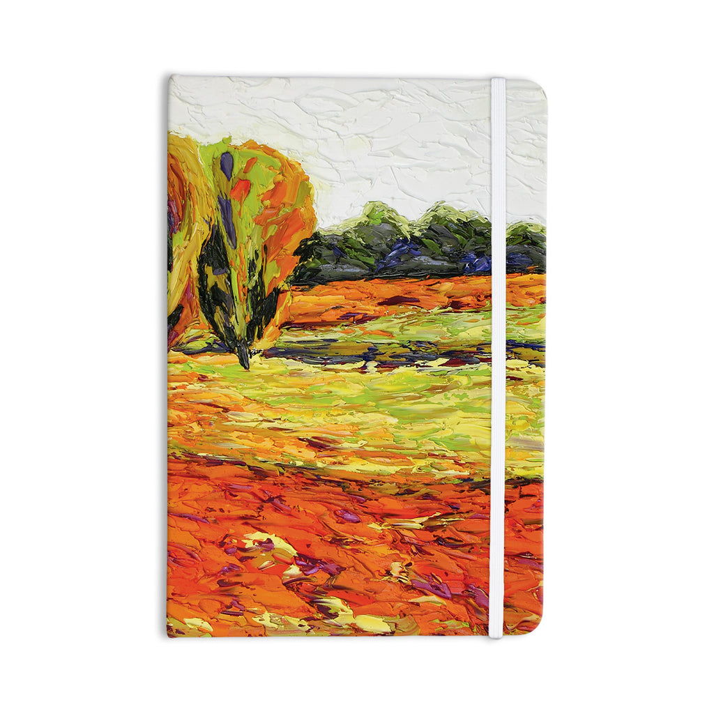 "Jeff Ferst ""Summer Breeze"" Orange Foliage Everything Notebook - KESS InHouse  - 1"